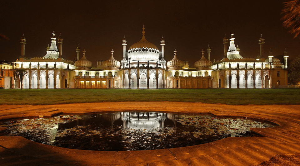 Royal Pavilion in Brighton UK