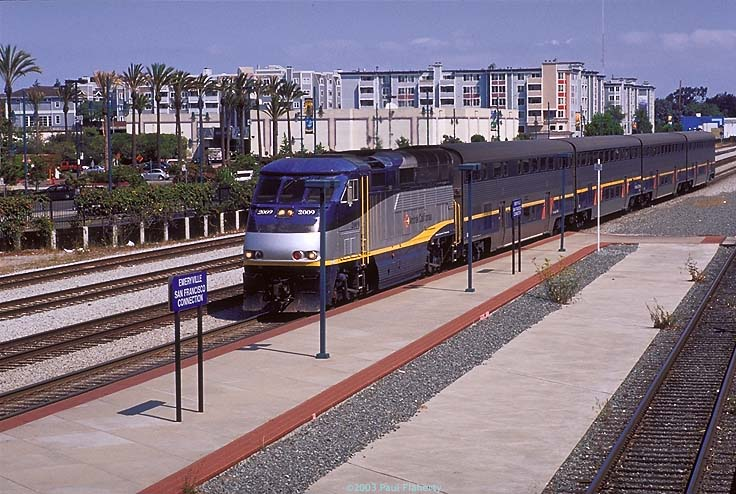 Zipping around Northern California with the Capitol Corridor train
