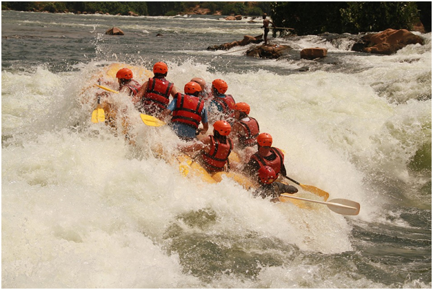 Conquer the rapids, experience white water rafting on the river