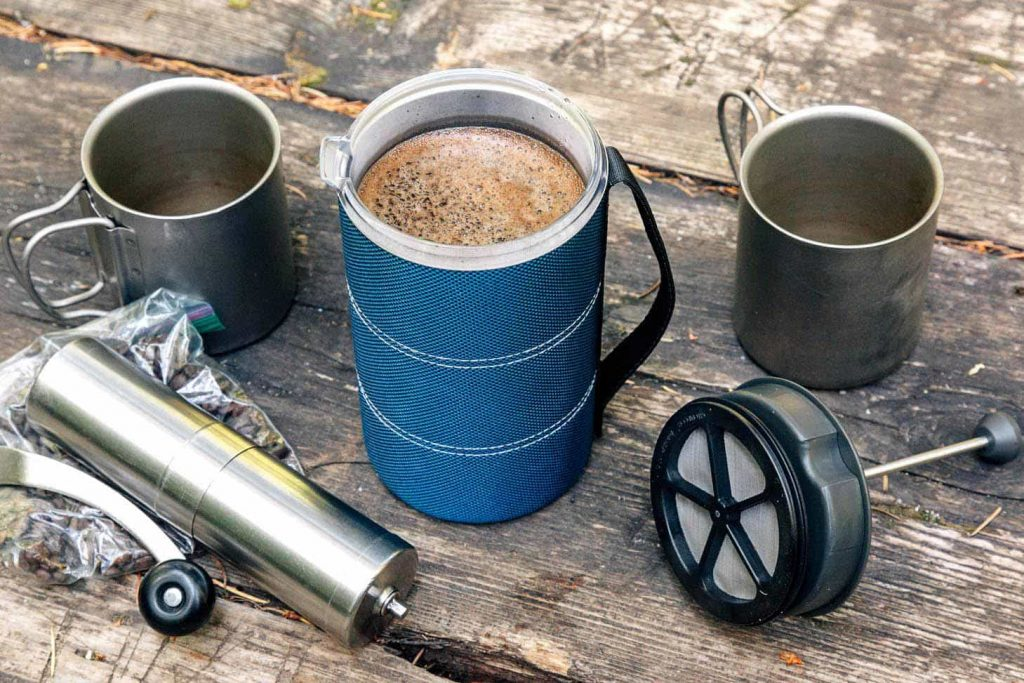 Making coffee on the road as you travel