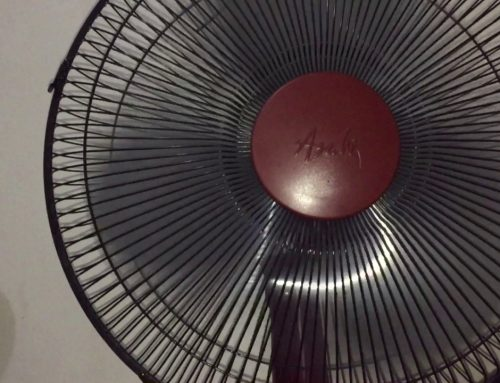 The Asahi portable fan