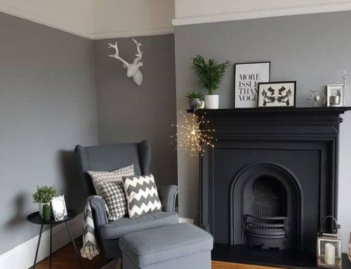 Grey color in the interior design as an universal solution